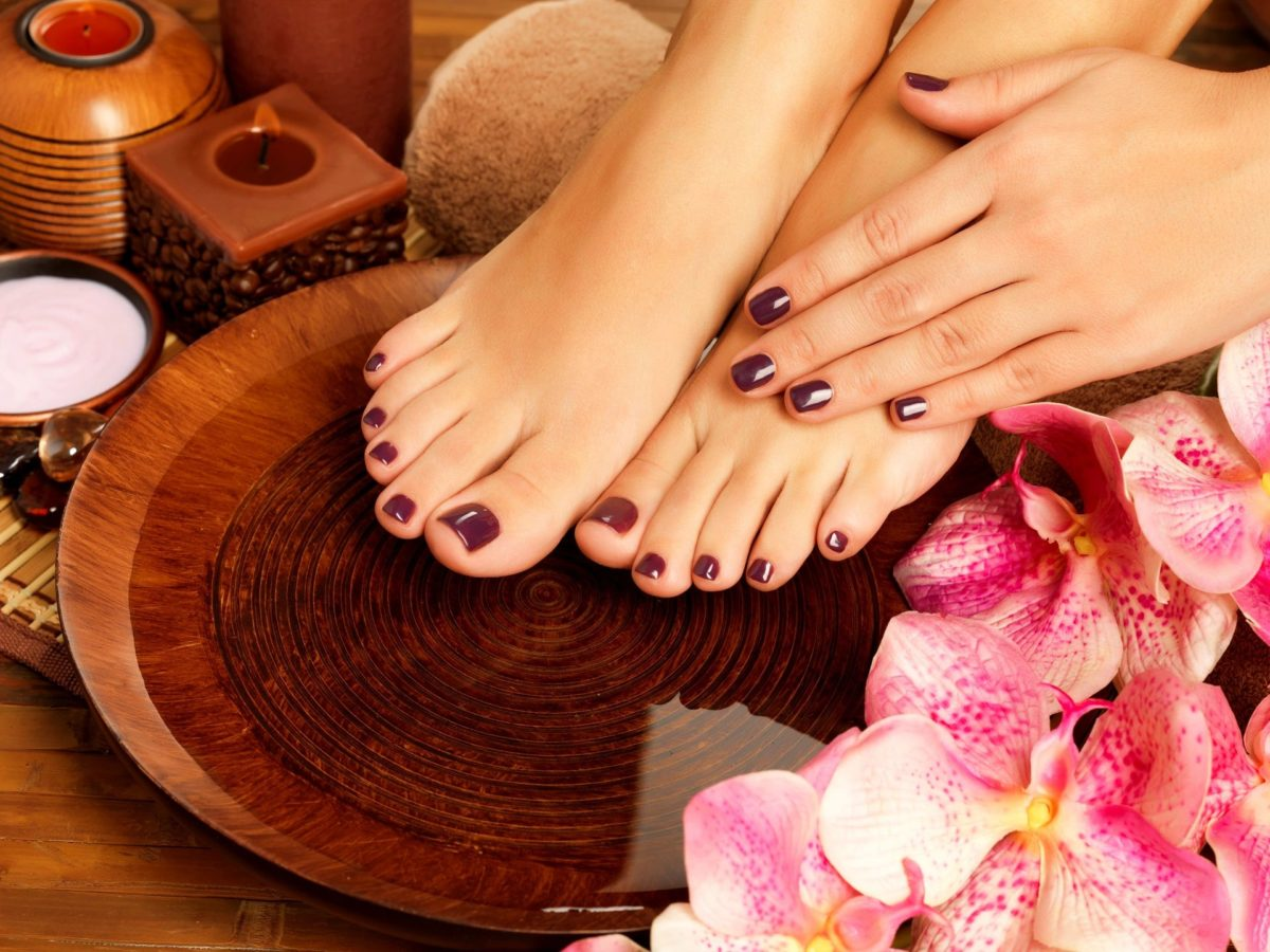 spa manicure pedicure